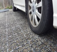 VersiGrid™ gravel driveways and parking